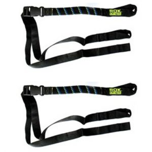 Rokstraps Large Adjustable Flat Straps Twin Pack