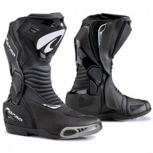 Forma Hornet Motorcycle Racing Boots Black