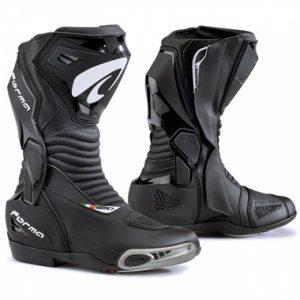 Forma Hornet Motorcycle Racing Boots Black