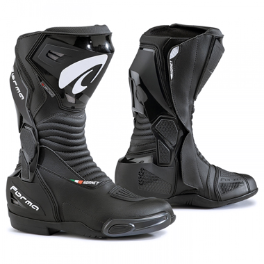 Forma Hornet Dry Motorcycle Racing Boots Black