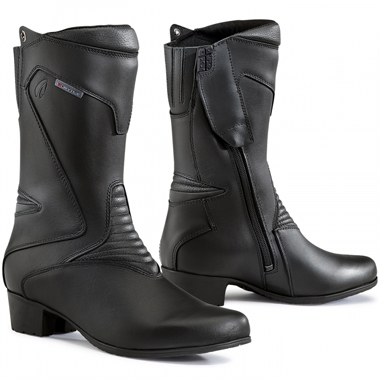 Forma Ladies Ruby Waterproof Motorcycle Boots Black