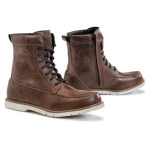 Forma Naxos Casual Waterproof Motorcycle Boots Brown