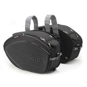 Givi EA100B Throw Over Expandable Motorcycle Panniers 40 Litres