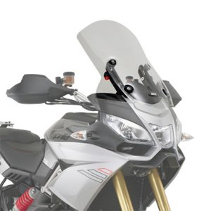 Givi D6706ST Touring Screen Aprilia Caponord 1200 2013 on Clear