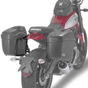 Givi PL7407 Pannier Holders Ducati 400 Scrambler 2016 on