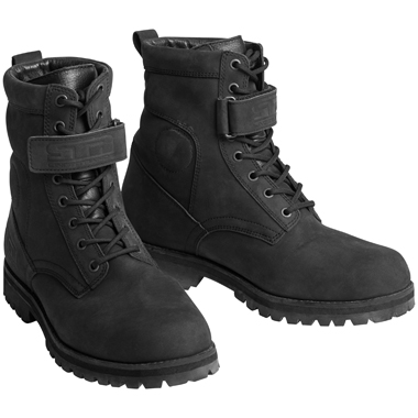 Lindstrands Drizzle Waterproof Motorcycle Boots Black