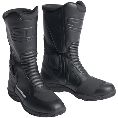 Lindstrands Trickle Motorcycle Waterproof Boots in Black