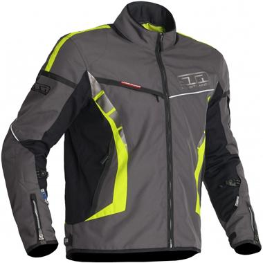 Lindstrands Zero Textile Motorcycle Jacket Lava HV Yellow
