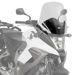 Givi 1104DT D1104KIT Motorcycle Screen Honda VFR800 Crossrunner 11 to 14 Clear