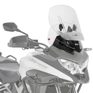 Givi AF1139 Motorcycle Screen Honda VFR800 Crossrunner 15 on Clear