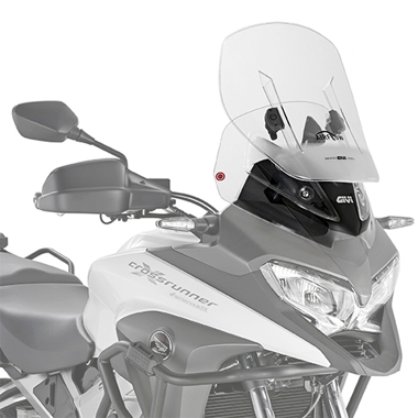 Givi AF1139 Motorcycle Screen Honda VFR800 Crossrunner 15 on Clear