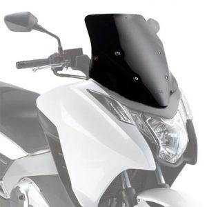 Givi D1109B Black Motorcycle Screen Honda Integra 750 2014 to 2015