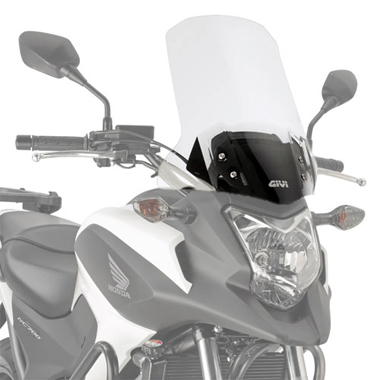 Givi D1111ST Clear Motorcycle Screen Honda NC750X DCT 2014 to 2015