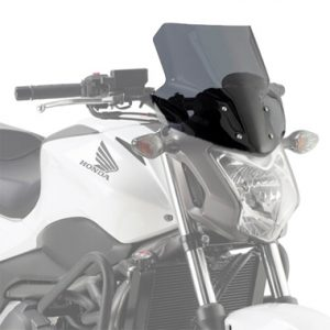 Givi D1112S Smoke Motorcycle Screen Honda NC700S 2012 to 2013