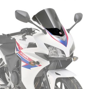 Givi D1119S Smoke Motorcycle Screen Honda CBR500R 2013 to 2015