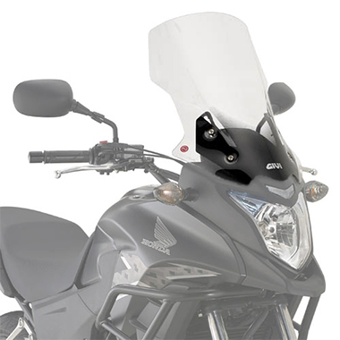 Givi D1121ST Clear Motorcycle Screen Honda CB500X 2013 to 2018