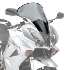 Givi D217S Motorcycle Screen Honda VFR800 VTEC 02 to 11 Smoke