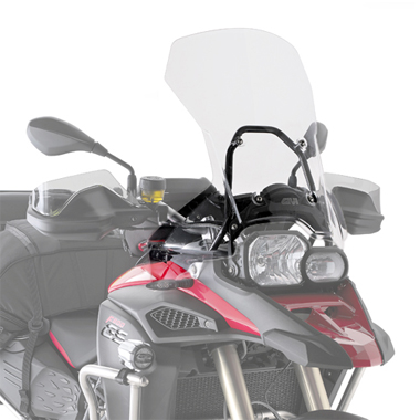 Givi D5110ST Motorcycle Screen BMW F800 GS Adventure 2013 on Clear