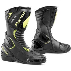 Forma Freccia Motorcycle Racing Boots Black Fluo