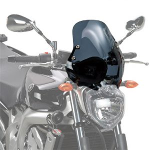 Givi 140D D140KIT Motorcycle Screen Yamaha FZ6 2004 to 2006 Smoke