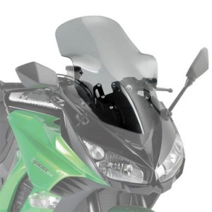 Givi 4100D Motorcycle Screen Kawasaki Z1000SX 2011 to 2016 Smoke