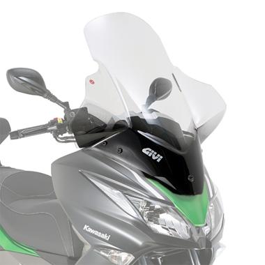 Givi 4111DT D4111KIT Motorcycle Screen Kawasaki J125 14 on Clear