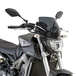 Givi A2115 Motorcycle Screen Yamaha MT09 2013 to 2016 Smoke