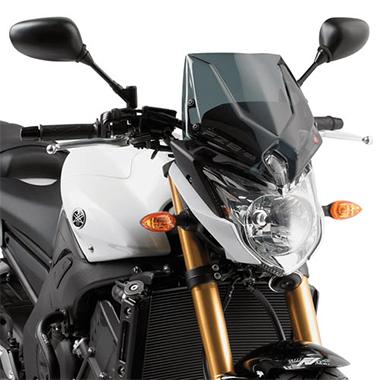 Givi A287 Motorcycle Screen Yamaha FZ8 10 to 15 Smoke