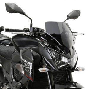 Givi A4109 Motorcycle Screen Kawasaki Z800 13 on Smoke