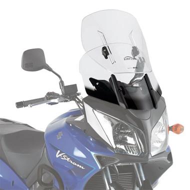 Givi AF260 Motorcycle Screen Suzuki DL650 04 to 11 Clear