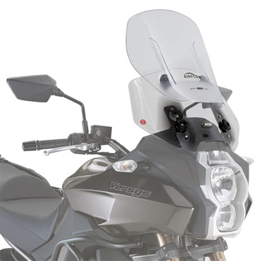 Givi AF4105 Motorcycle Screen Kawasaki Versys 650 2015 to 2016 Clear