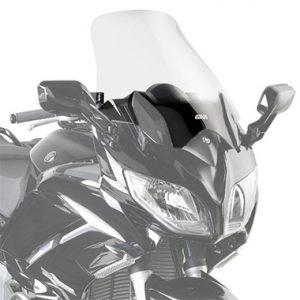 Givi D2109ST Motorcycle Screen Yamaha FJR1300 2013 on Clear