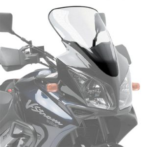 Givi D255ST Motorcycle Screen Suzuki DL1000 VStrom 02 to 03 Clear