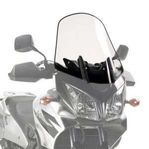 Givi D260ST Motorcycle Screen Suzuki DL650 04 to 11 Clear