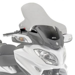 Givi D3104ST Motorcycle Screen Suzuki AN650 Burgman 2013 on Clear