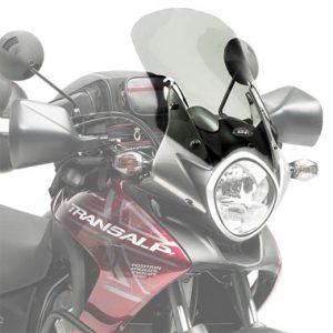 Givi D313S Motorcycle Screen Honda XL700 Transalp 08 to 13 Smoke