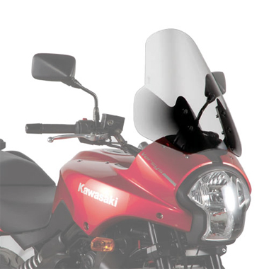 Givi D405ST Motorcycle Screen Kawasaki Versys 650 06 to 09 Clear