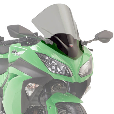 Givi D4108S Motorcycle Screen Kawasaki Ninja 300 13 on Smoke