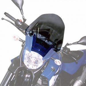 Givi D433S Motorcycle Screen Yamaha XT660R 2004 on Smoke
