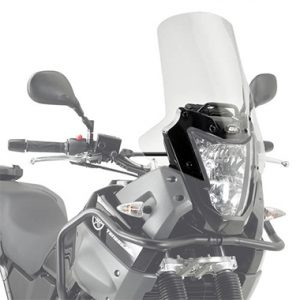 Givi D443ST Motorcycle Screen Yamaha XT660Z Tenere 2008 on Clear