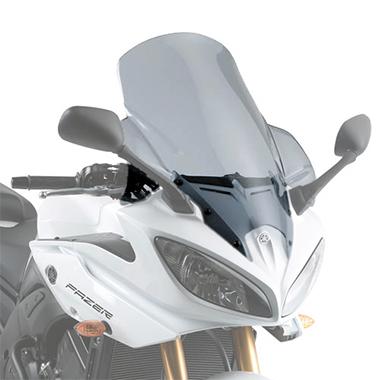 Givi D448S Motorcycle Screen Yamaha FZ8 Fazer 2010 to 2015 Smoke