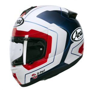 Arai Axces 3 Motorcycle Helmet in Line Blue