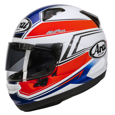 Arai Chaser X Motorcycle Helmet Shaped Blue