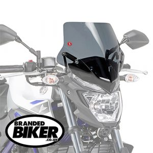 Givi A2127 Motorcycle Screen Yamaha MT03 321 2016 on Clear