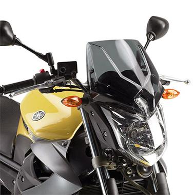 Givi A286 Motorcycle Screen Yamaha XJ6 2009 to 2015 Smoke