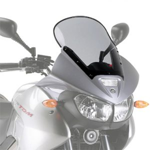 Givi D132S Motorcycle Screen Yamaha TDM900 2002 to 2014 Smoke