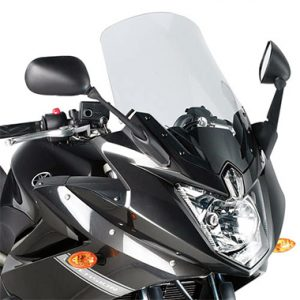 Givi D444S Screen Yamaha XJ6 Diversion 2009 to 2013 Smoke