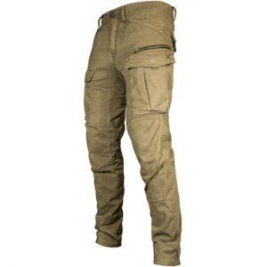 John Doe Stroker Cargo Kevlar Motorcycle Jeans Short Leg Camel