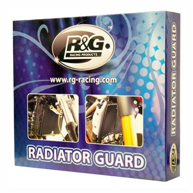 R&G Radiator Guard Aprilia Tuono V4 1100 2015 on Titanium