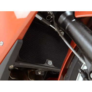 All Years R/&G RACING BLACK RADIATOR GUARD  BMW F800S